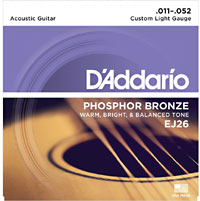D'addario EJ26 Acoustic Guitar Strings
