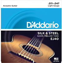 D'addario EJ40 Acoustic Guitar Strings