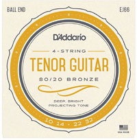 D'addario EJ66 Tenor Guitar Strings. CGDA