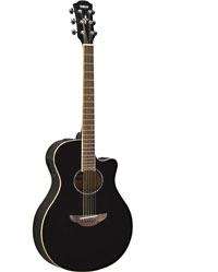 Yamaha APX 600 Electro Acoustic Guitar, Black