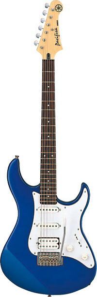 Yamaha 012 Pacifica Electric Guitar, Blue