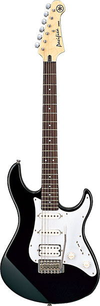 Yamaha 112J Pacifica Electric Guitar, Black
